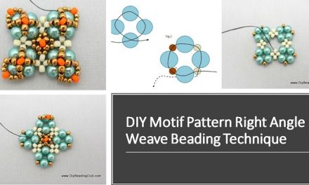 DIY Motif Pattern Right Angle Weave Beading Technique
