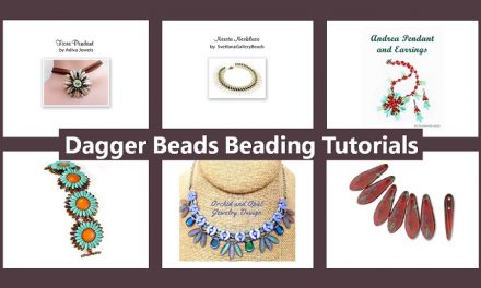 Dagger Beads Beading Tutorials – DIY Jewelry Making