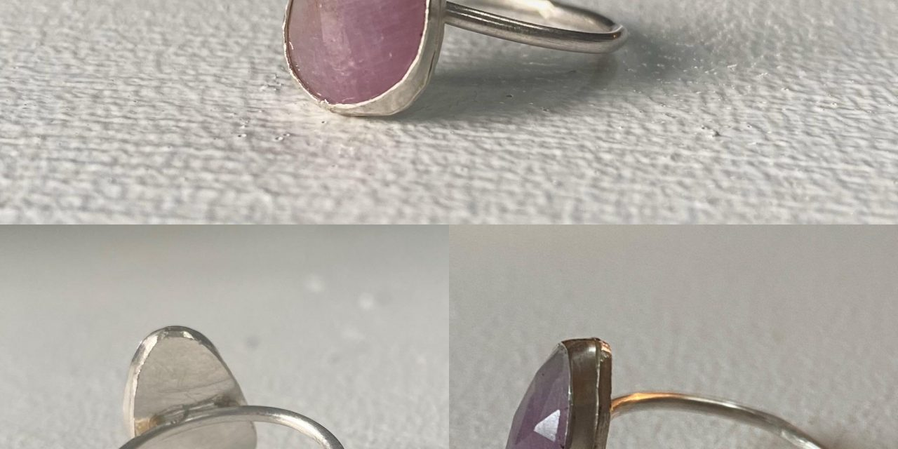 I started trying to make rings this past month. This is my best one so far. Any tips or recommendations for improvement? I would love any and all feedback/advice (: : jewelrymaking