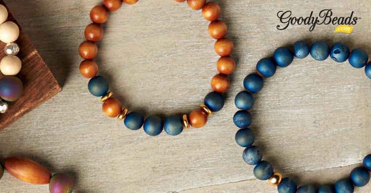 DIY Druzy Agate Stretch Bracelets –