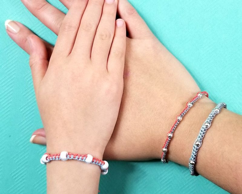 How to make a beaded friendship bracelet