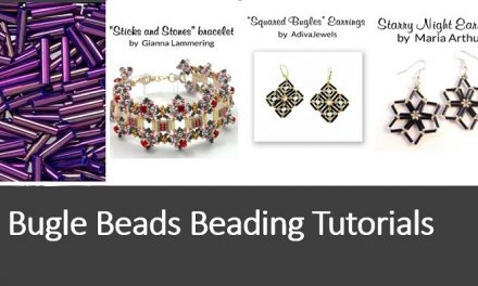 Bugle Beads Beading Tutorials