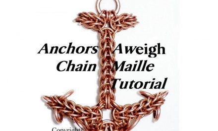 Innovative Chain Maile Weave Tutorials by BrilliantTwistedSkulls