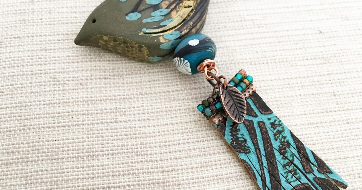 Humblebeads Blog: Leather Charm Tassel Tutorial