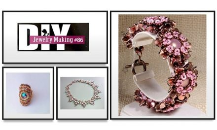 Learn How to Bead Jewelry with DIY Jewelry Making Magazine #86
