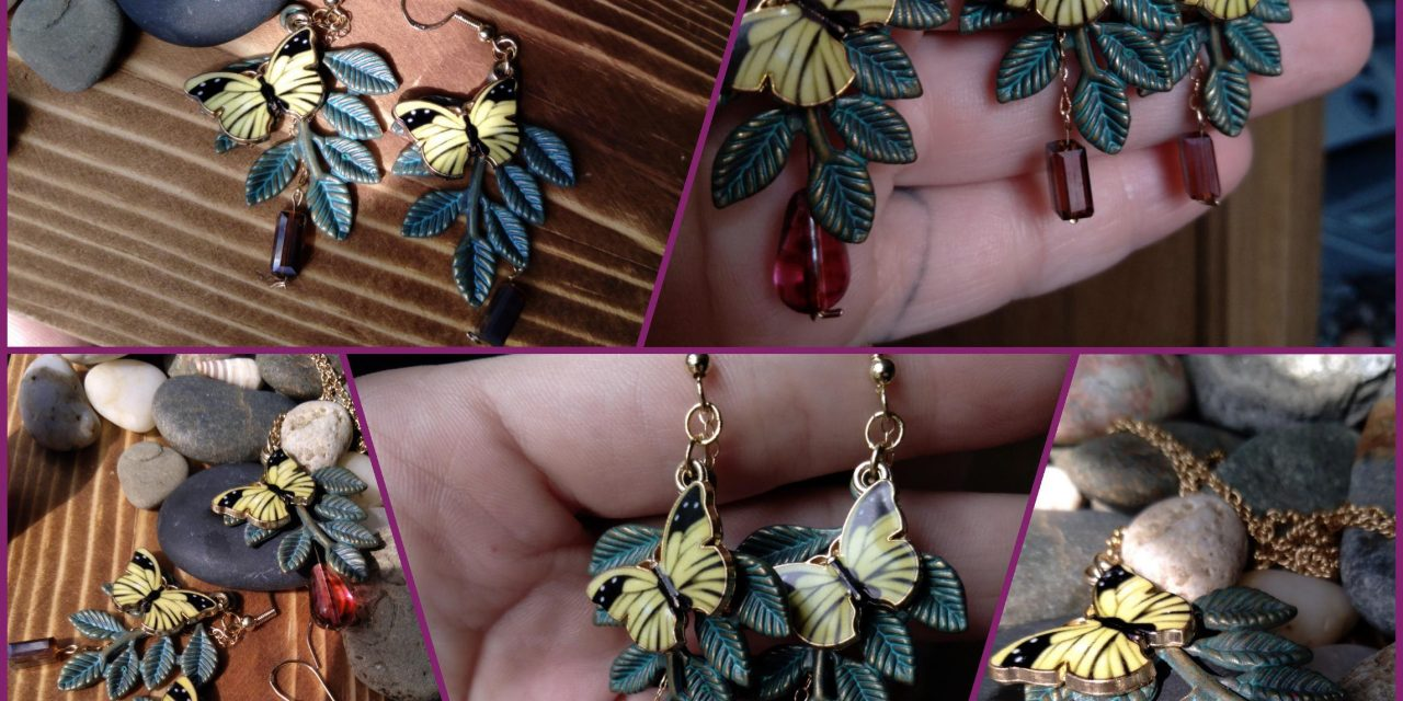 Butterflies and branches