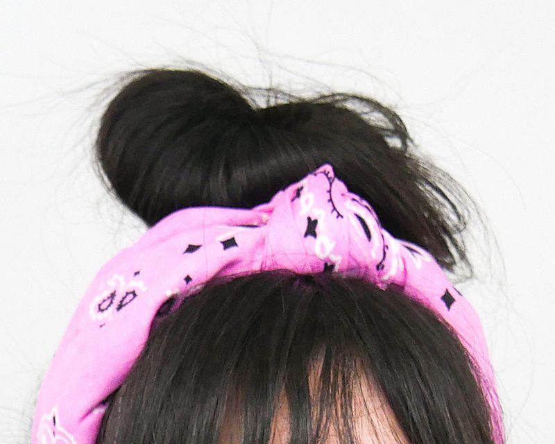 No Sew Headband Bandana DIY