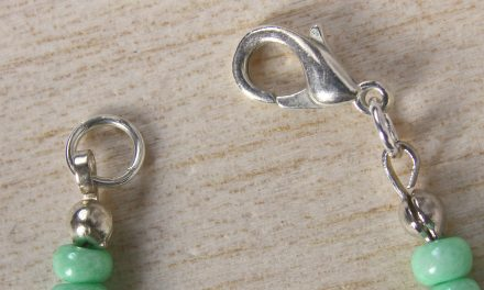 How to use Necklace Ends to Finish Jewellery