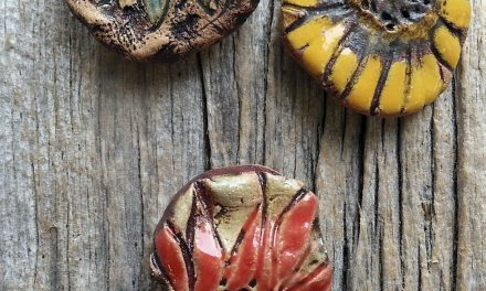MaryHardingJewelry Bead Blog: New Stoneware beads