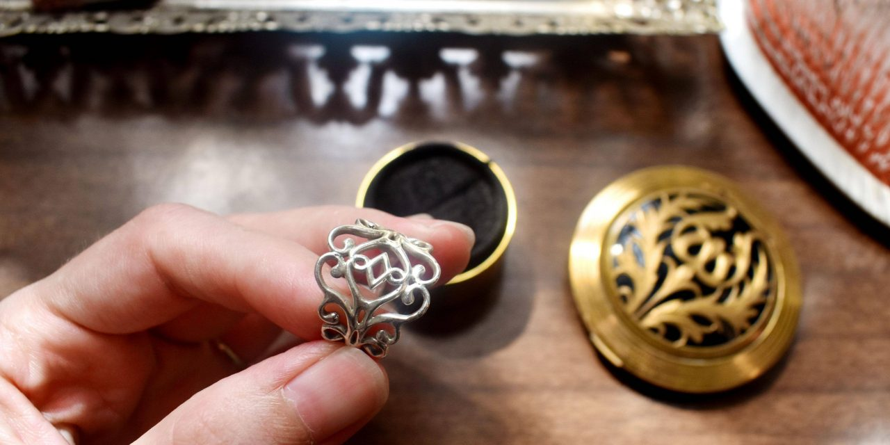I made my first filigree ring