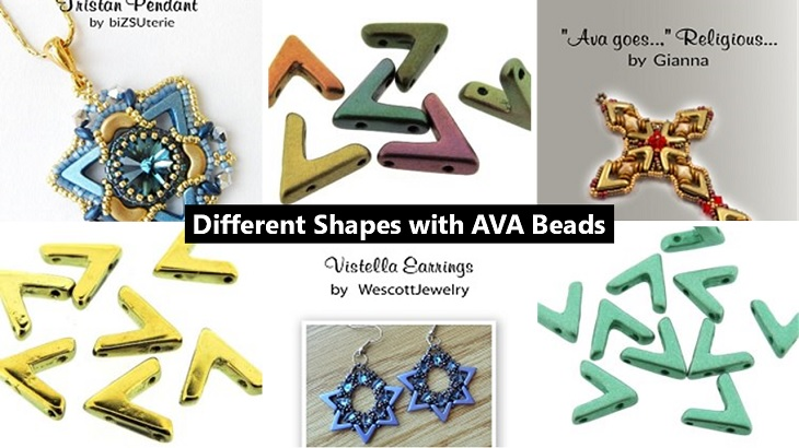 Different Shapes with AVA Beads