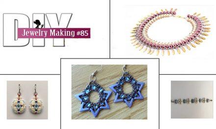 Czech Beads DIY Jewelry Making Magazine #85 Tutorials