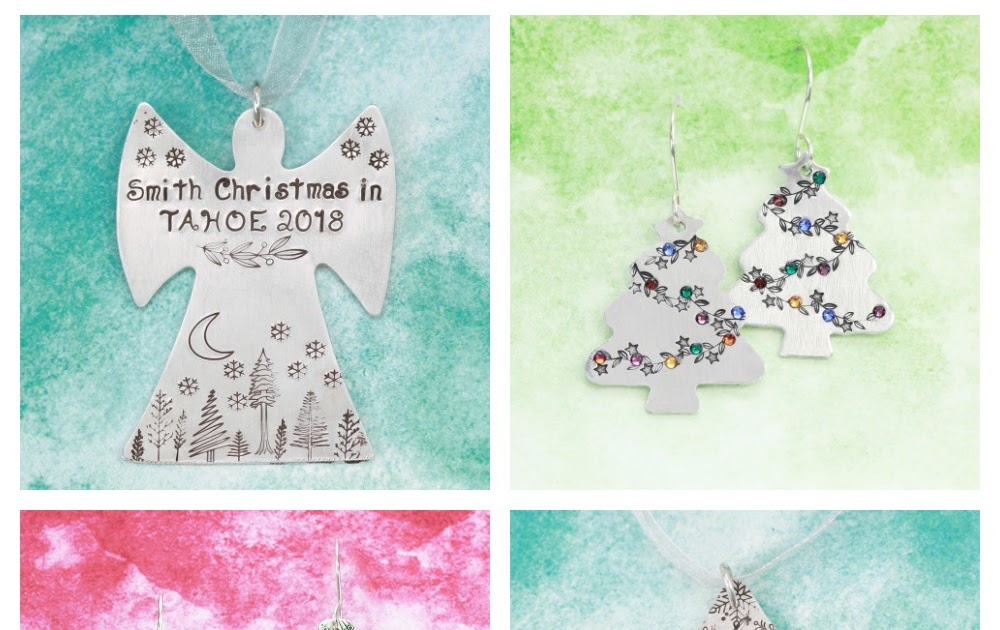 8 Metal Stamped Holiday DIYs + How To Plan Out A Design