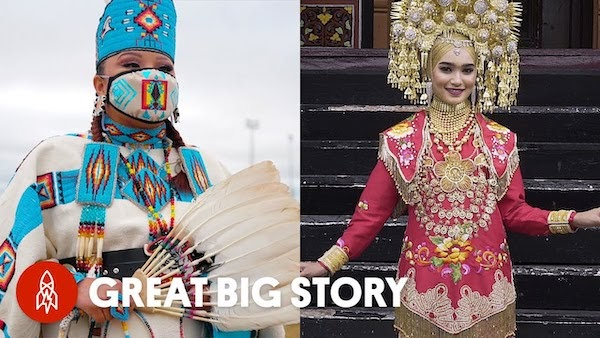Bead and Crystal Embroidered Traditional Wedding Dresses From Around the World | Royal Wedding Dresses from the Past