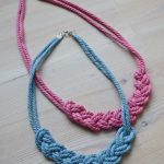 How to make a Macrame Braid Necklace