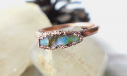 Copper Electroforming Using Opals — Maker Monologues