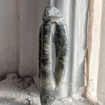 A soapstone pendant I carved