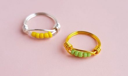 Wire Wrapped Ring Tutorial for Beginners