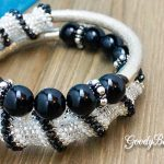 Dakota Stones Microfacet Gemstones & DIY Memory Wire Bracelet with Cellini Spiral Pattern –