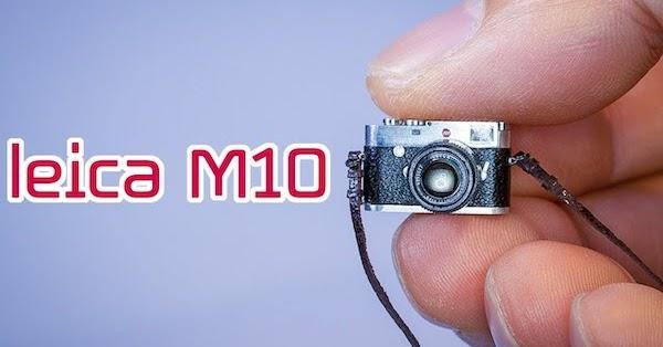 Watch How a Miniature Replica Camera is Made!