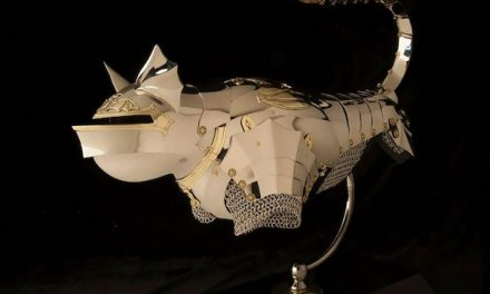 Cat and Mouse Armor Art and Jewelry by Jeff De Boer | ArmetCanada