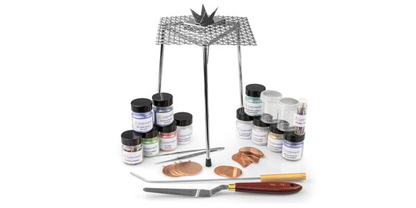 What are the tools and Equipment needed for enamelling