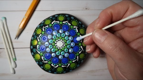 Mandala Dotting Tutorial Might Inspire Jewelry Makers?