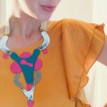 Bold Acrylic and Recycled Plastic Jewelry by EnnaJewellery